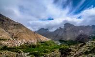 La DMN prévoit des nuages faiblement instables sur le Haut et le Moyen Atlas avec risque d'ondées et d'orages par endroits. Ph : DR