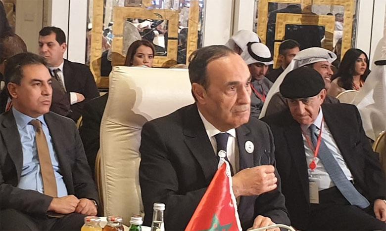 Habib El Malki: Le Maroc, sous la conduite de S.M. le Roi, affirme son adhésion totale à toutes les démarches arabes engagées pour la défense de la cause palestinienne