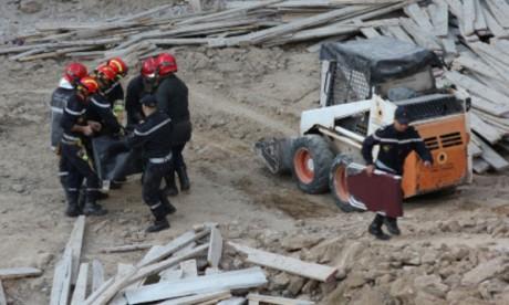 L'effondrement d'un mur cause la mort de deux ouvriers