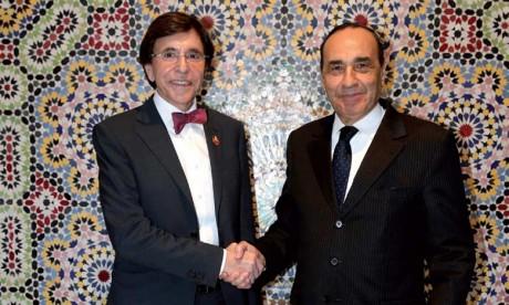 L'ancien Premier ministre belge Elio di Rupo affirme apprécier la sage politique de S.M. le Roi Mohammed VI