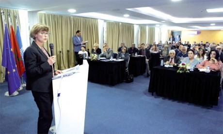 Lancement officiel du programme «Moucharaka Mouwatina» d'appui à la société civile