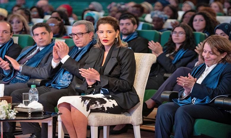 S.A.R. la Princesse Lalla Meryem préside à Rabat la cérémonie de célébration de la Journée internationale de la femme
