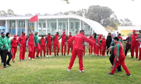 Les athlètes marocains ont réalisé de bons résultats dans toutes les disciplines en s'adjugeant 34 médailles dont 12 en or. Ph : MAP