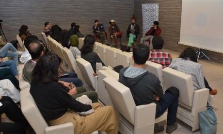 Mehdi Koman,  Snoopy et Othman El Kheloufi ont partagé avec le public leurs expériences professionnelles.