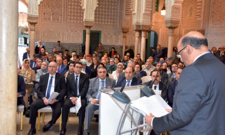 Noureddine Boutayeb a rappelé que le Royaume a franchi d'importants pas dans la concrétisation de la régionalisation avancée.                      Ph.  Sradni