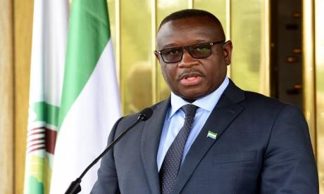 Accompagné d'une forte délégation, le Président de la Sierra Leone, Julius Maada Bio, présidera le lancement de l'édition 2019 du FIAD. Ph. AFP