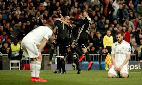 Le Real Madrid écrasé par l'Ajax Amsterdam