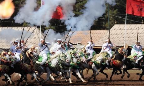 Cet art équestre, profondément ancré dans la culture marocaine, est associé aux festivités tant nationales que régionales. Ph. DR