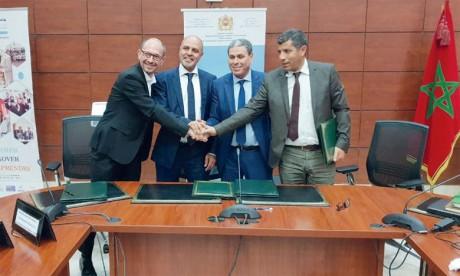 L'Université Chouaïb Doukkali signe un accord de coopération avec l'Université Polytechnique Hauts-de-France