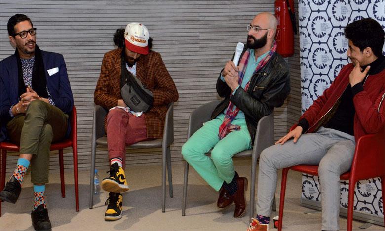 Othman El Kheloufi, Mehdi Koman et Snoopy partagent  leurs expériences avec les jeunes