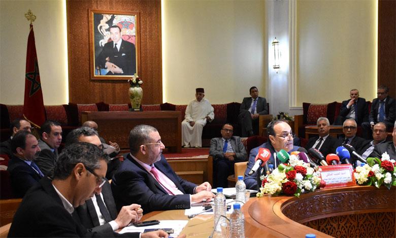 Le président de la Chambre des représentants, Habib El Malki, dresse à Rabat le bilan de la 14e session de la Conférence de l'Union parlementaire des États membres de l'OCI