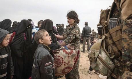 Les survivants abandonnent  le «califat» moribond