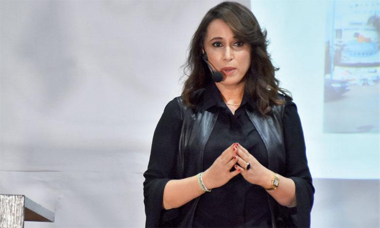 Laila Lekfy, psychopédaguogue et fondatrice du groupe scolaire l'Escalade.                                                                                                      Ph. Seddik