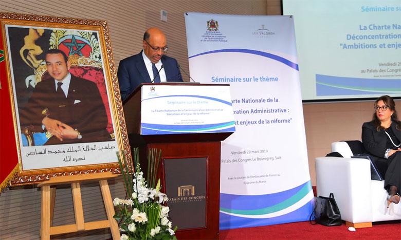 Les enjeux de la déconcentration administrative  en débat à Rabat
