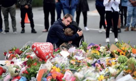 Inhumation des premières victimes  du carnage des mosquées
