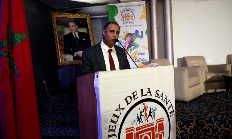 La cérémonie d'ouverture de ces jeux a été rehaussée par la présence de sportifs marocains de renom.  Ph. MAP