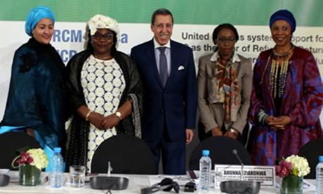 Les travaux de la 20e réunion du Mécanisme  de coordination régionale pour l'Afrique  se poursuivent à Marrakech