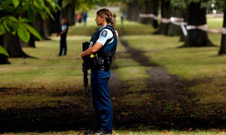 La Nouvelle-Zélande a relevé son niveau d'alerte à la sécurité de bas à élevé. Ph : AFP