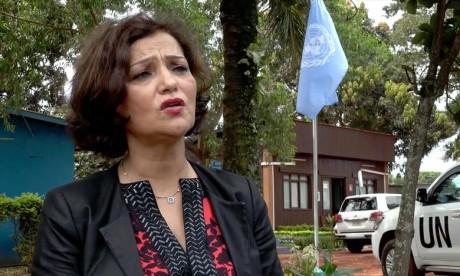 Dans le cadre de sa nouvelle mission, Najat Rochdi contribuera  à faciliter l'accès humanitaire crucial et la protection des civils en Syrie. Ph : DR