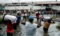 Cette action fait suite à l'appel à l'aide internationale lancé par les autorités mozambicaines. Ph : AFP