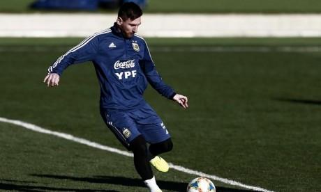 Messi forfait face aux Lions de l'Atlas