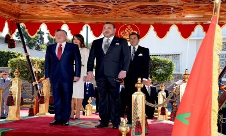 Le Roi Abdallah II de Jordanie effectue une visite d'amitié et de travail au Maroc