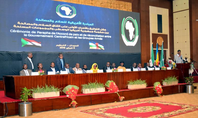 Un nouveau Représentant spécial et Chef du Bureau de l'Union africaine en République centrafricaine a été également nommé. Ph. DR