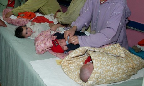 Le HCP fait observer que globalement, et jusqu'en 2010, la fécondité tendait vers la baisse. Ph. DR