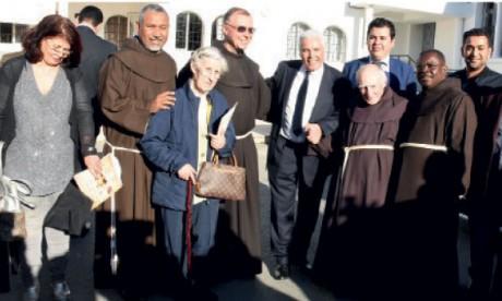 L'objectif de l'exposition, selon Abdellah Boussouf, est de présenter un modèle vivant de coexistence de toutes  les religions au Maroc.                 Ph. Kartouch