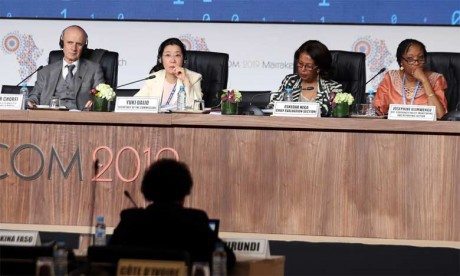 La vice-secrétaire générale de l'ONU à la rencontre des argentiers  d'Afrique à Marrakech
