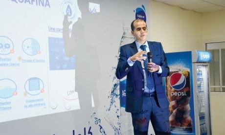 Aquafina, la marque emblématique de Pepsi,  sur le marché marocain