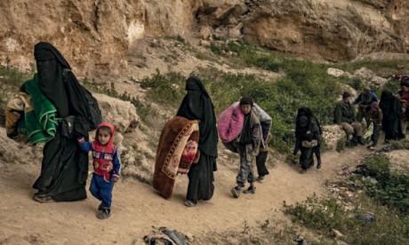 Les forces antijihadistes resserrent l'étau autour  du réduit de Daech