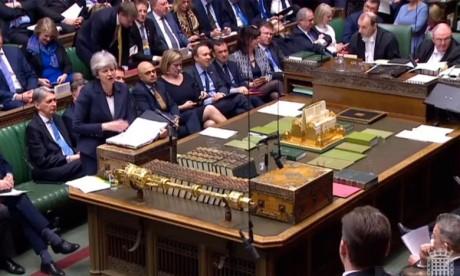 La Première ministre britannique s'est engagée à démissionner auprès des députés conservateurs, en échange de leur soutien à l'accord de divorce qu'elle a négocié avec Bruxelles. Ph : AFP