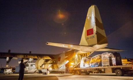 Cette action fait suite à l'appel à l'aide internationale lancé par les autorités mozambicaines. Ph : MAP