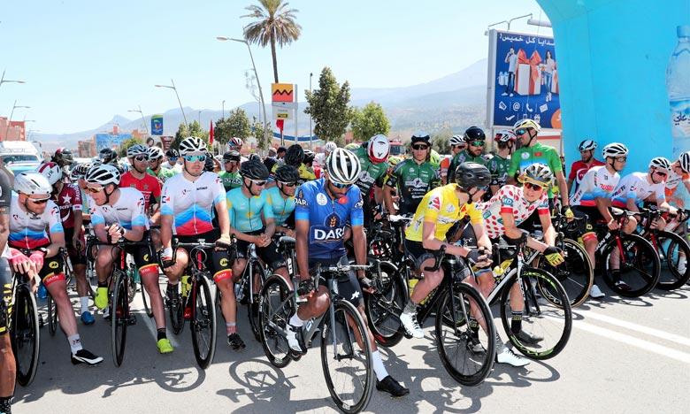 Cyclisme : Galdoune s'adjuge la 2e place de la 9e étape