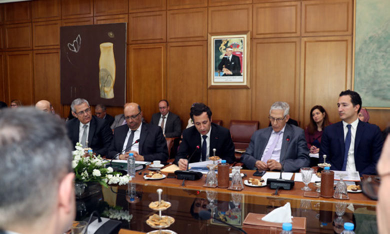 Réunion de présentation du Nouveau Cadre de partenariat pays avec la Banque mondiale.