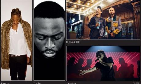 Quatre grandes figures du rap à la 18e édition