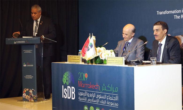 Signature d'une série de conventions entre le Maroc et la BID en marge de sa 44e réunion annuelle.