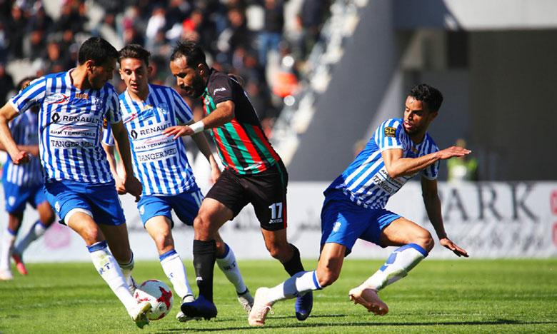 Abdelghani El Mouaoui n'a rien pu faire face à ses anciens coéquipiers.