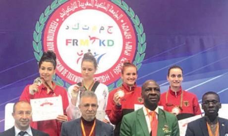 De l'or et de l'argent pour les Marocains  au terme de la compétition