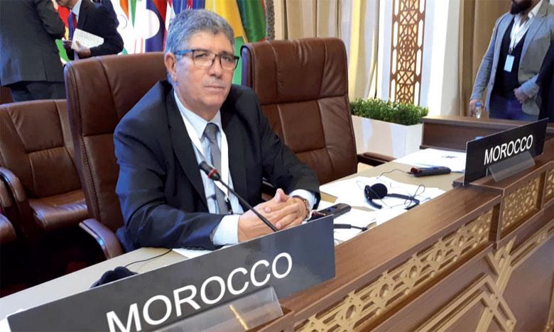 Le Maroc présente à Doha un rapport sur le déroulement de la Conférence parlementaire de Rabat