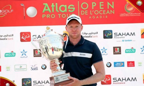 Golf  :  L'anglais James Wilson remporte l'Open Océan