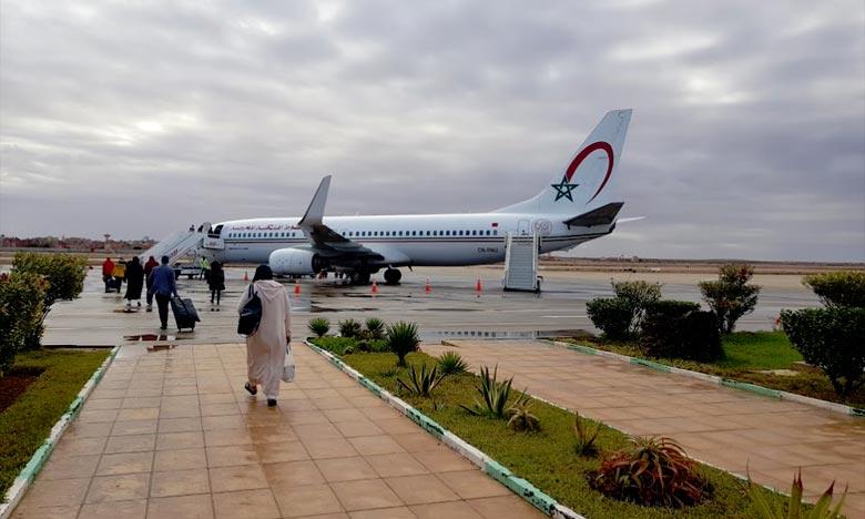 Aéroport Hassan 1er : Hausse de 5,44% du trafic en février