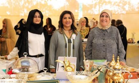 Les ambassadrices des pays arabes organisent un bazar  de bienfaisance en faveur des enfants atteints de cancer