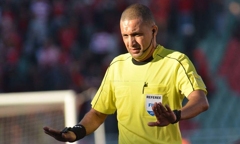 Le Marocain Rédouane Jeyid figure parmi les arbitres retenus pour officier la CAN 2019. Ph : DR