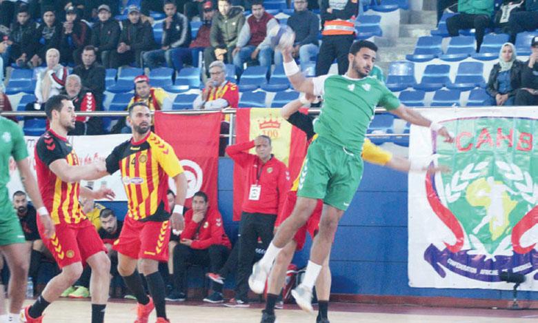 Le Mouloudia d'Oujda  en quarts de finale