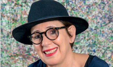 Rafika Azzaoui expose ses toiles à Rabat