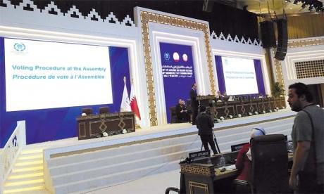 La proposition marocaine de mise en place d'un mécanisme international pour protéger le peuple palestinien n'a pas abouti
