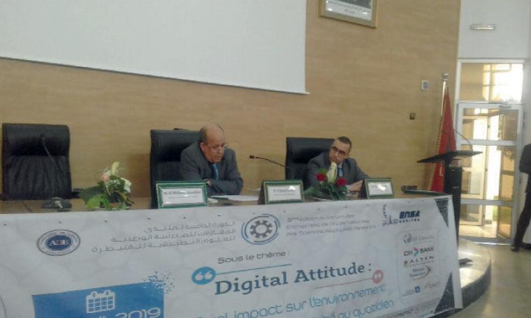 ENSA : Le Forum des entreprises autour  de la «Digital attitude»