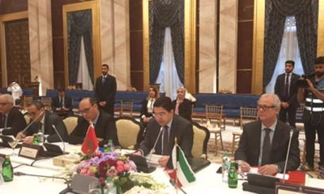 Tenue de la neuvième session de la Commission mixte maroco-koweïtienne